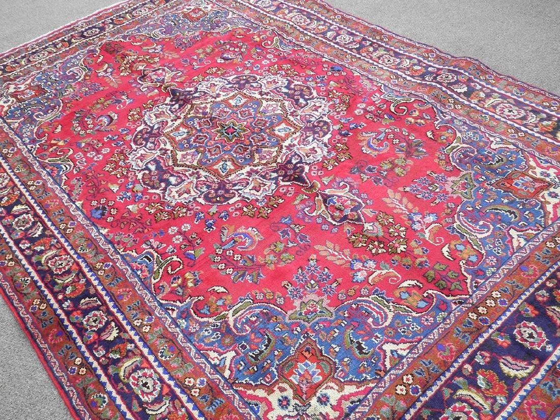Detailed Semi Antique Persian Tabriz 10.2x7.7 - 2