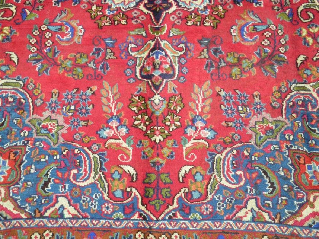 Detailed Semi Antique Persian Tabriz 10.2x7.7 - 3