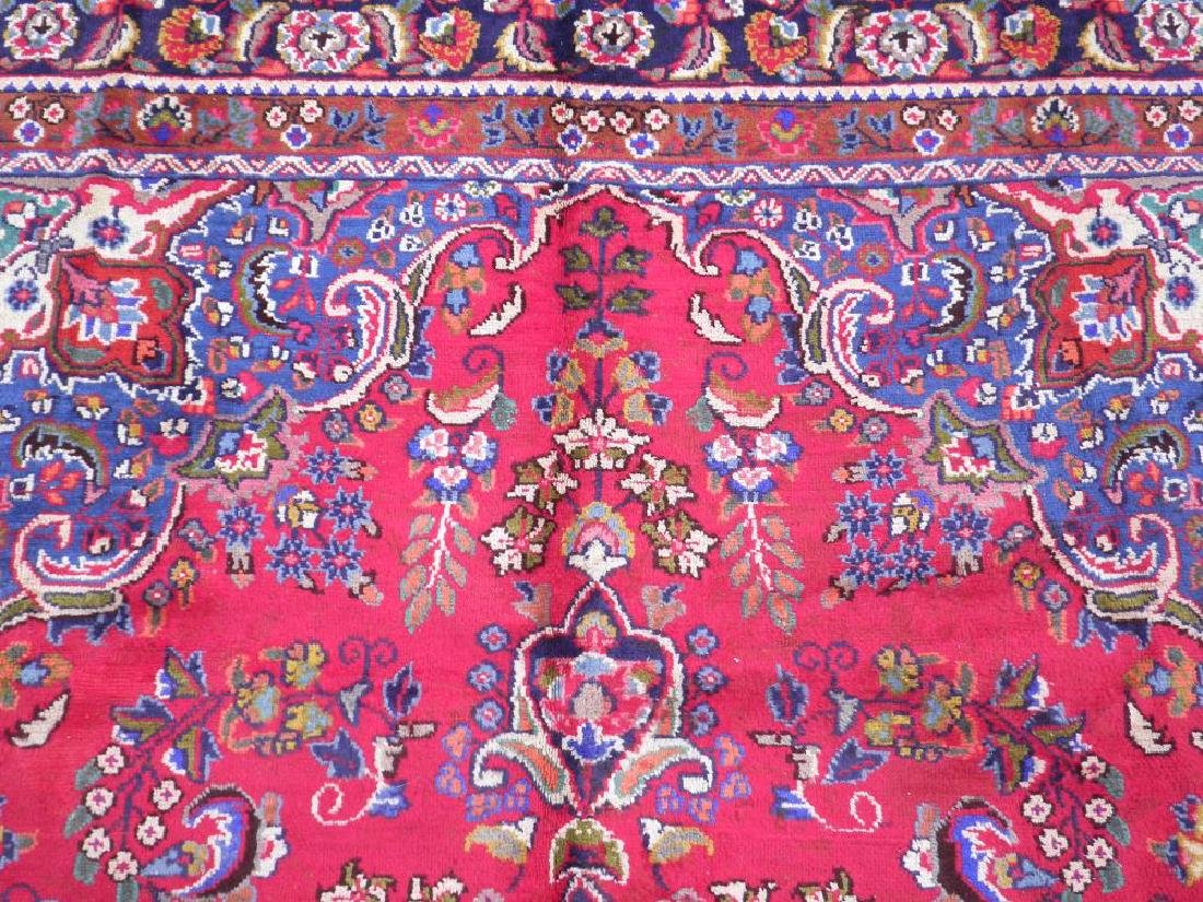 Detailed Semi Antique Persian Tabriz 10.2x7.7 - 5