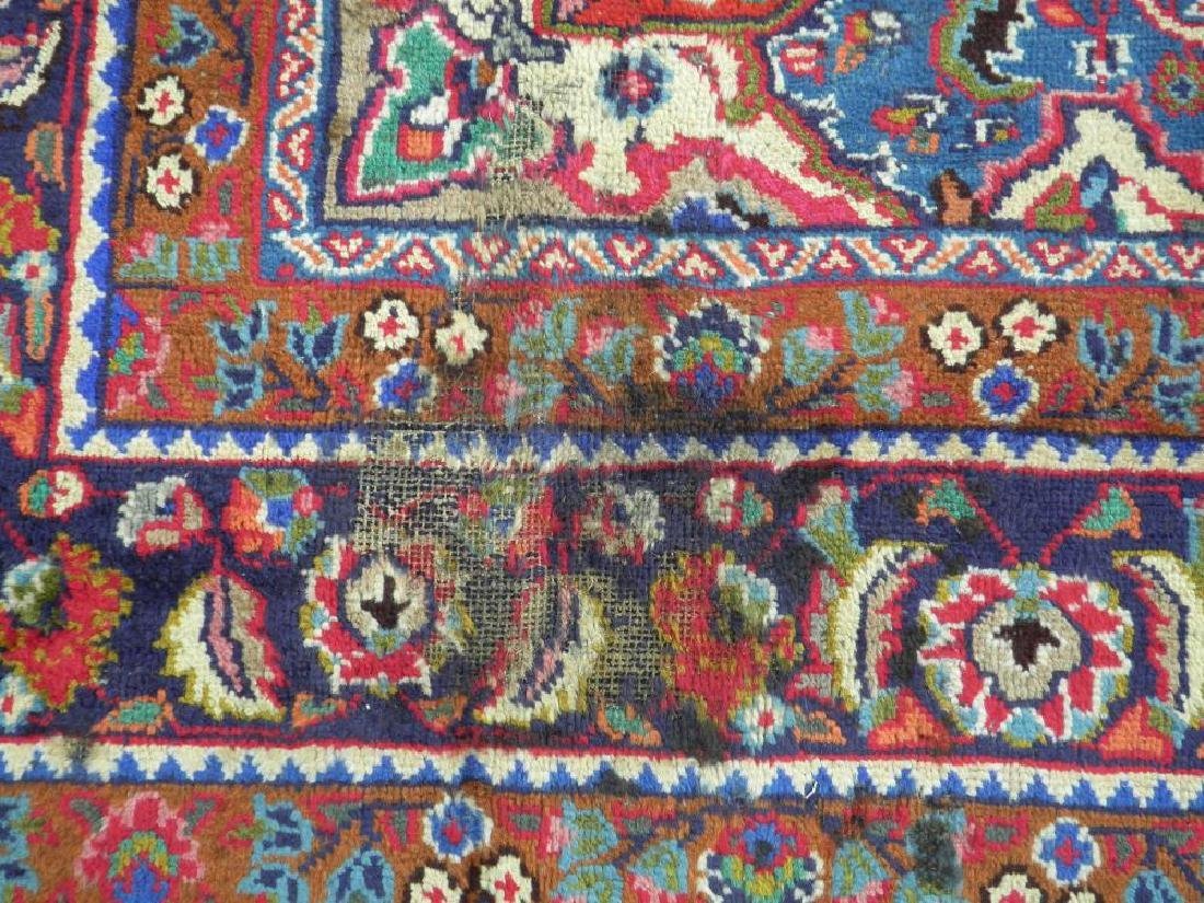 Detailed Semi Antique Persian Tabriz 10.2x7.7 - 6