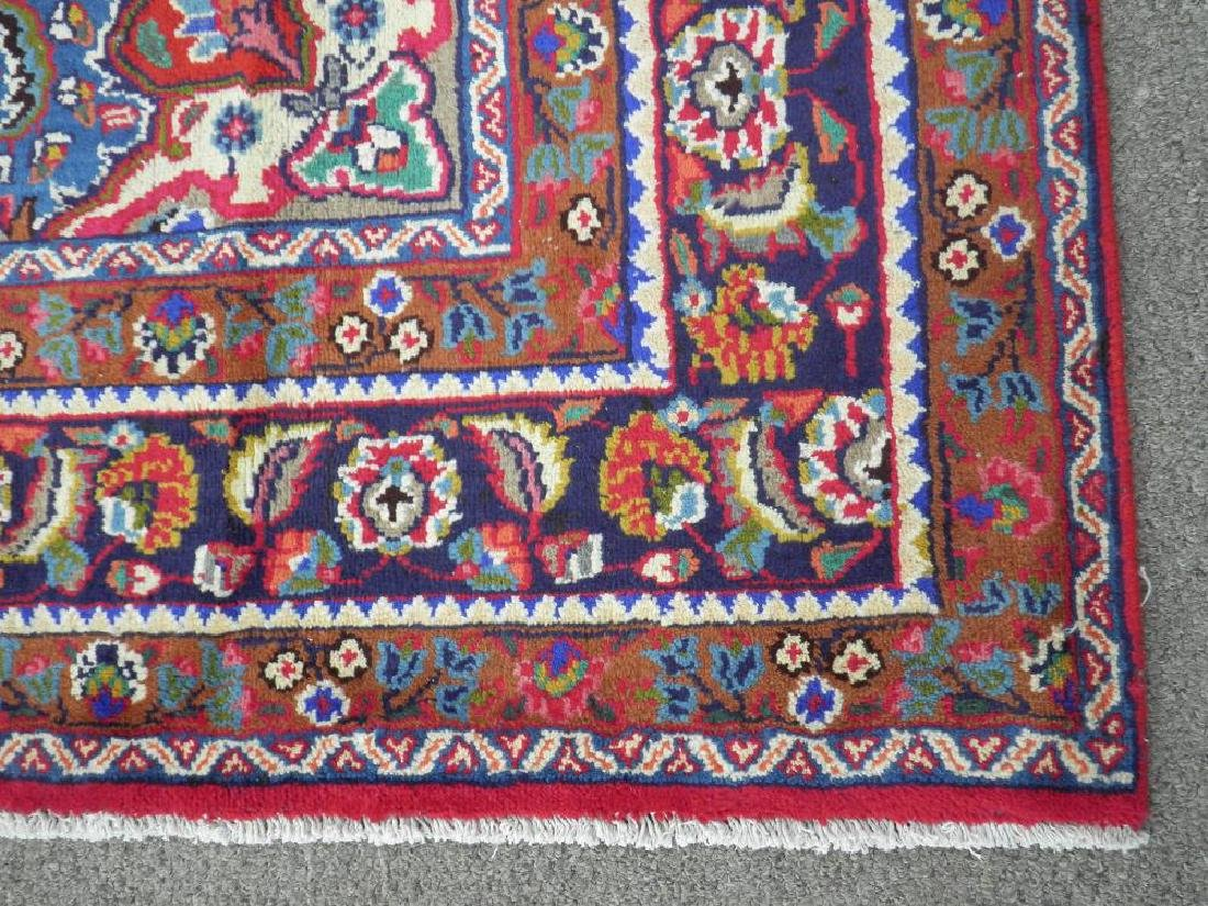 Detailed Semi Antique Persian Tabriz 10.2x7.7 - 7