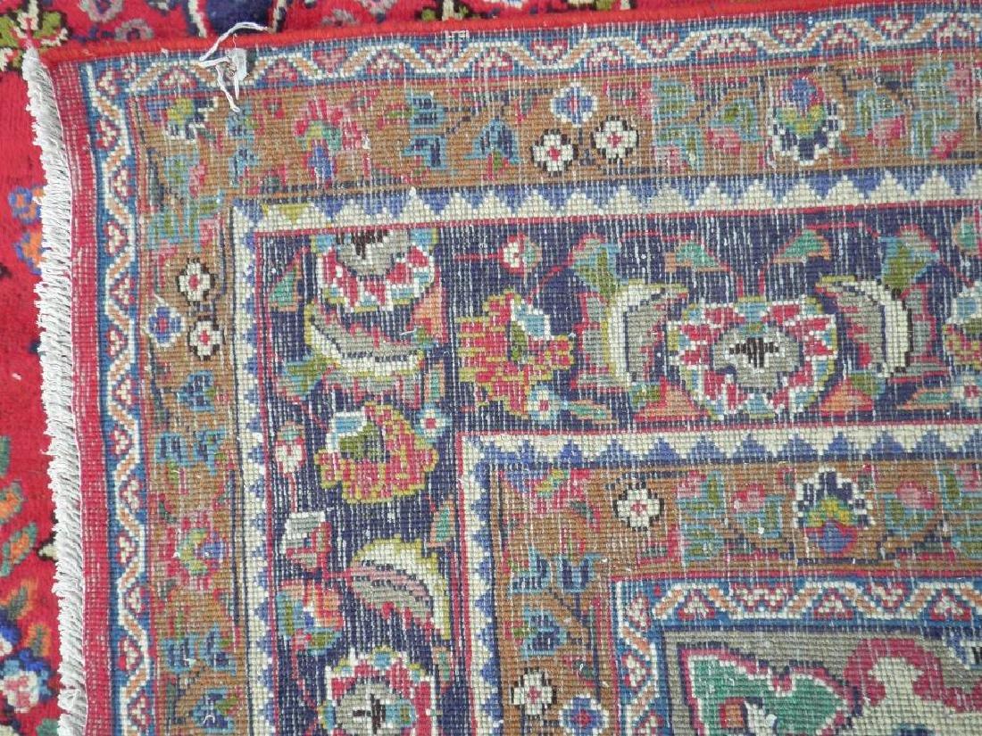 Detailed Semi Antique Persian Tabriz 10.2x7.7 - 8