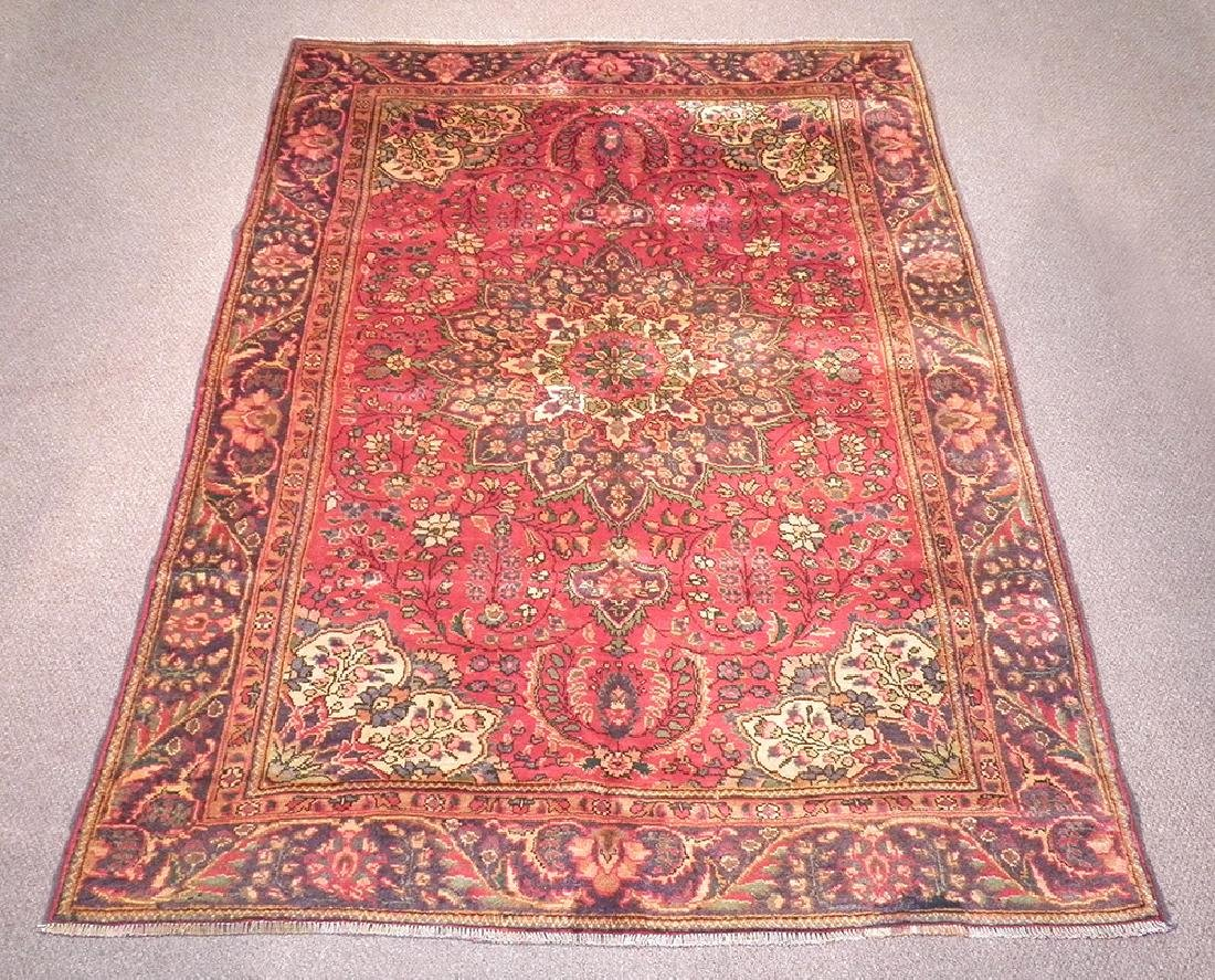 Beautiful Semi Antique Persian Tabriz 8.9x6.3