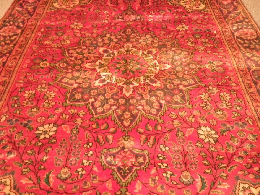Beautiful Semi Antique Persian Tabriz 8.9x6.3 - 2