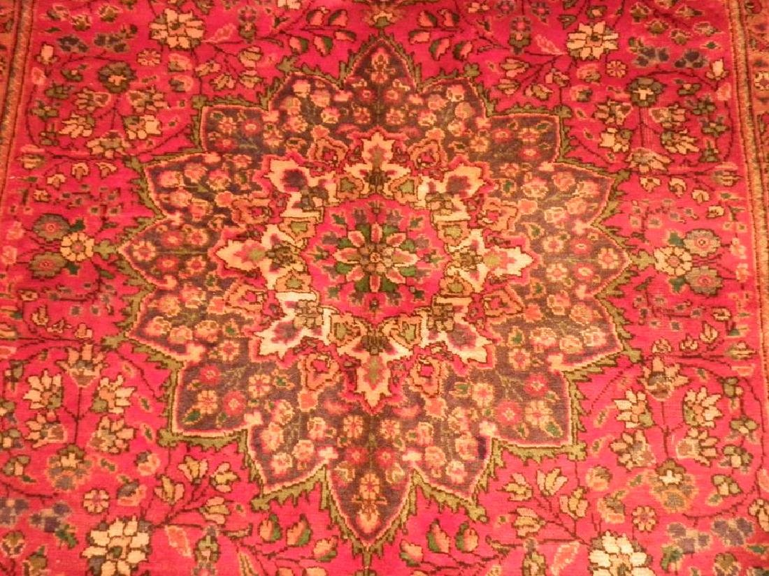 Beautiful Semi Antique Persian Tabriz 8.9x6.3 - 3