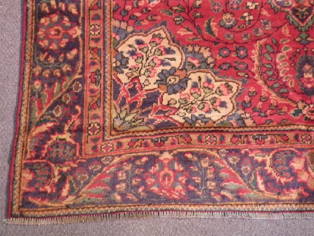 Beautiful Semi Antique Persian Tabriz 8.9x6.3 - 5
