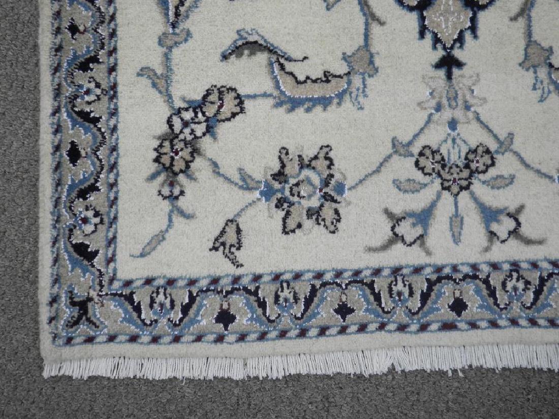 Handmade Wool/Silk Persian Nain 4.5x2.10 - 4