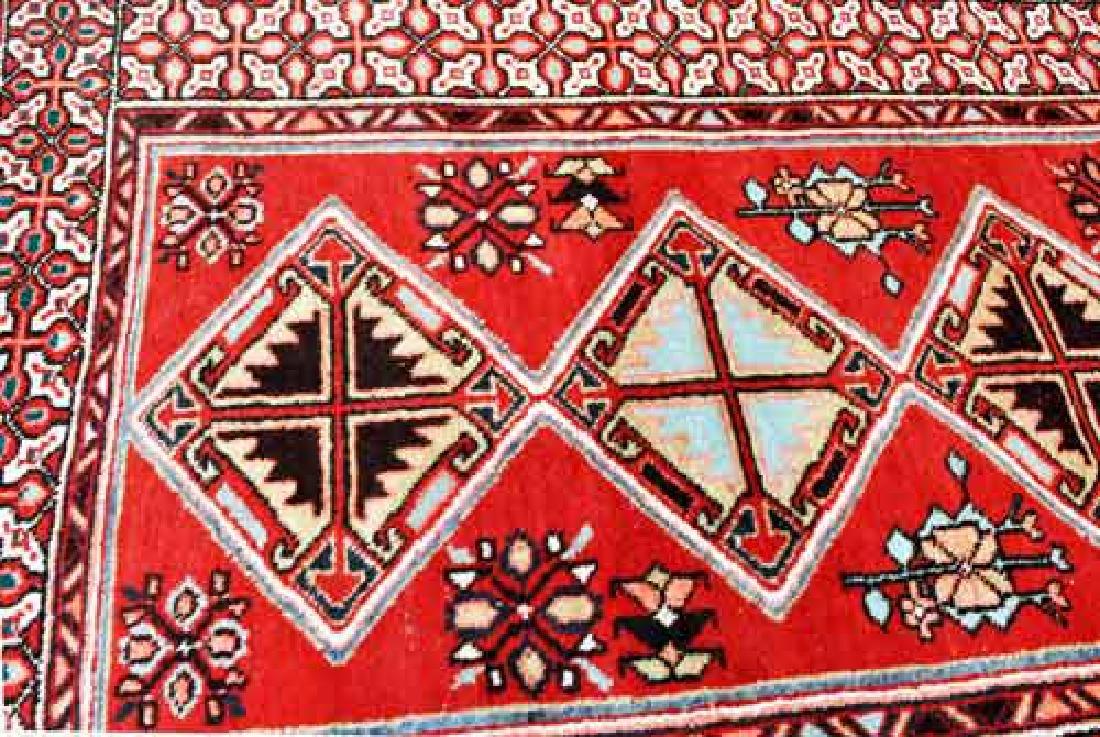 Fine Quality Handmade Semi Antique Turkish Sarab Runner - 2