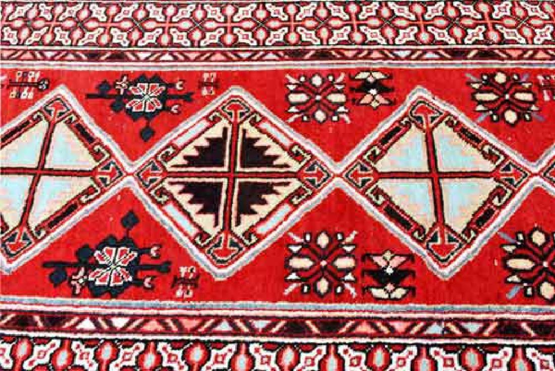 Fine Quality Handmade Semi Antique Turkish Sarab Runner - 3