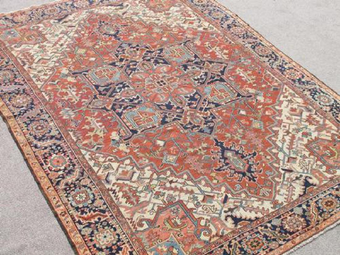 Extremely Rare and Kind Antique Persian Serapi Rug - 2