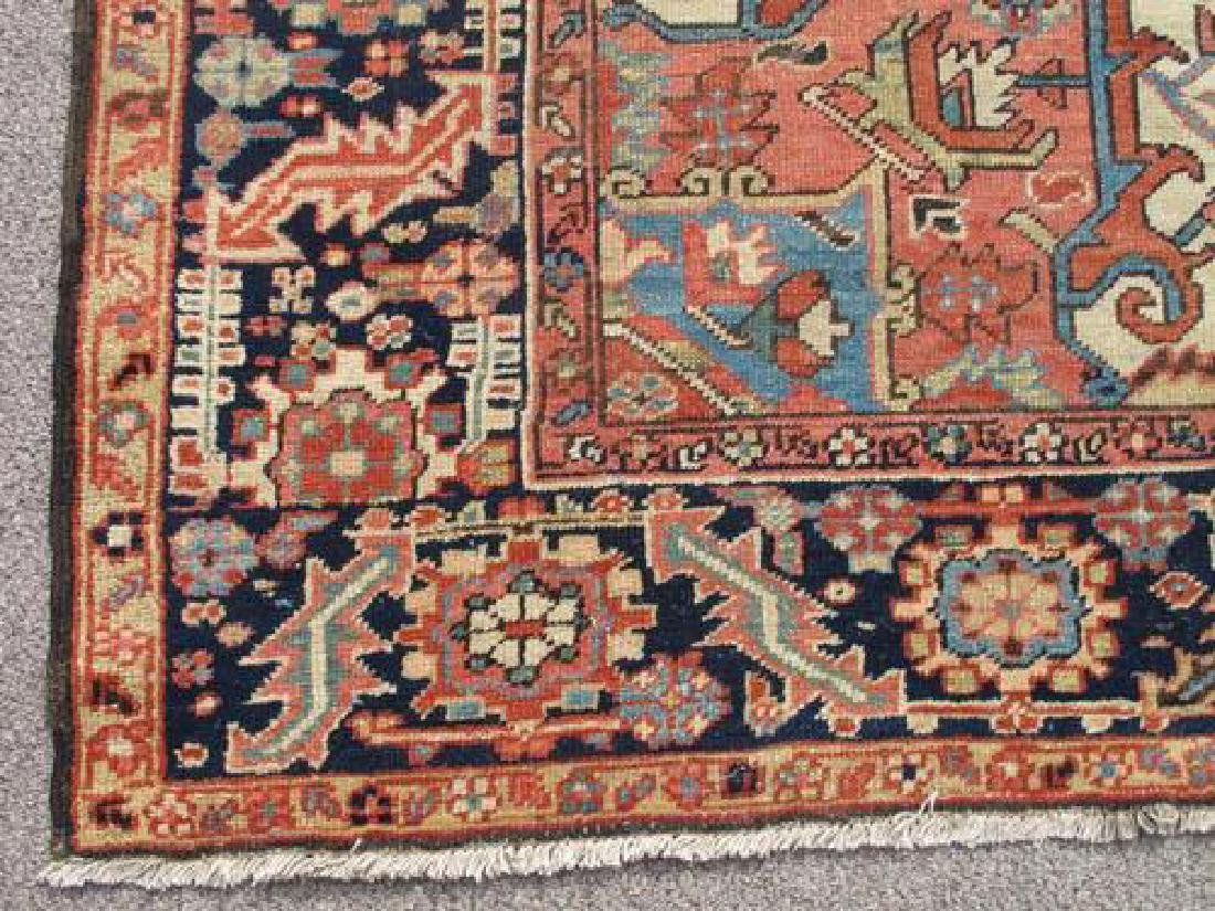 Extremely Rare and Kind Antique Persian Serapi Rug - 3