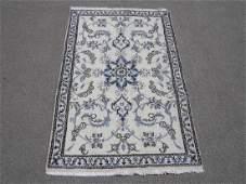 Gorgeous Handmade WoolSilk Persian Nain 49x211