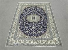 Stunning Semi Antique WoolSilk Persian Nain 99x64