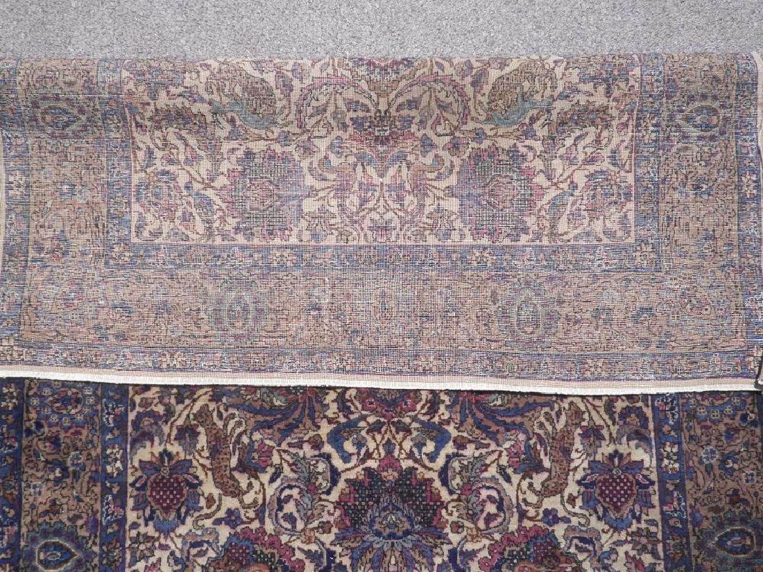 Hunting Design Antique Persian Kerman Rug 4x7 - 5
