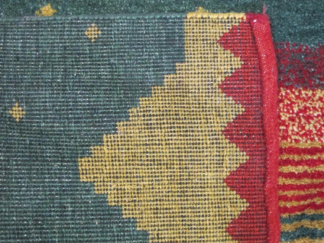 Strong and Sturdy Handmade Indo Gabbeh - 5