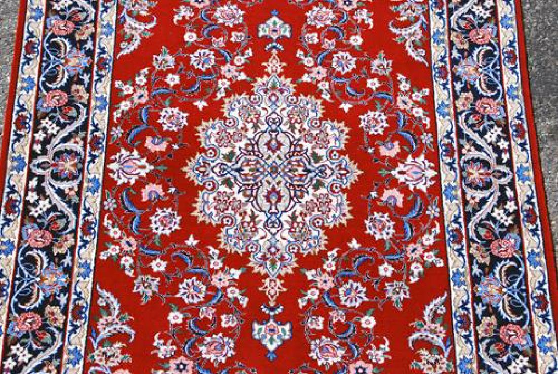 GORGEOUSLY DESIGNED PERSIAN ISFAHAN WITH SILK - 2