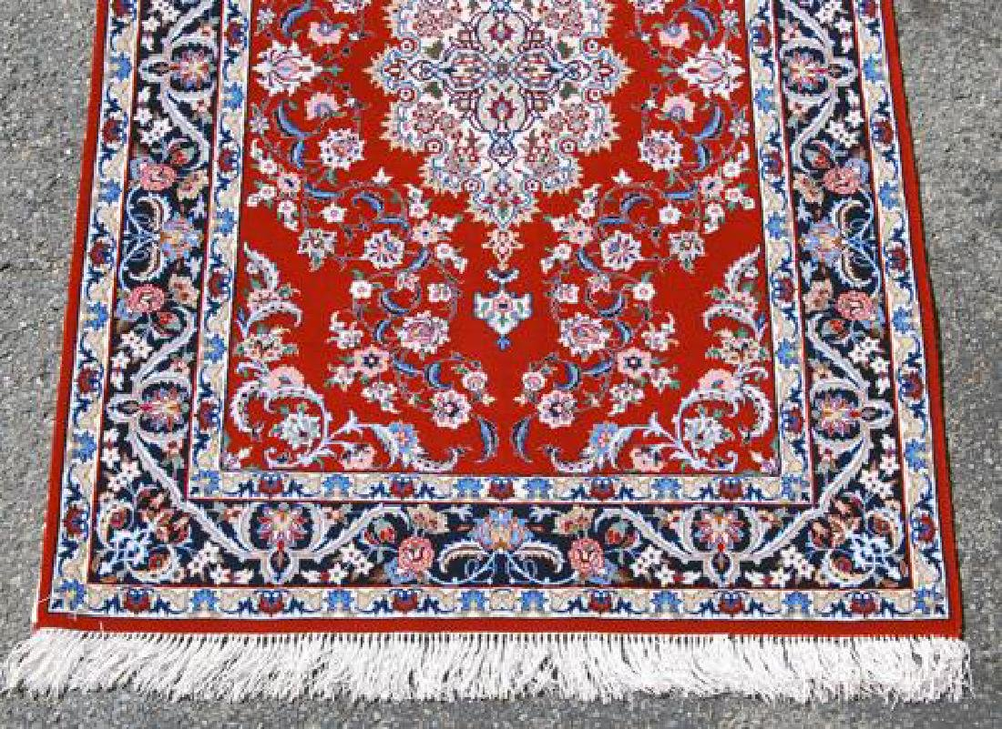 GORGEOUSLY DESIGNED PERSIAN ISFAHAN WITH SILK - 3