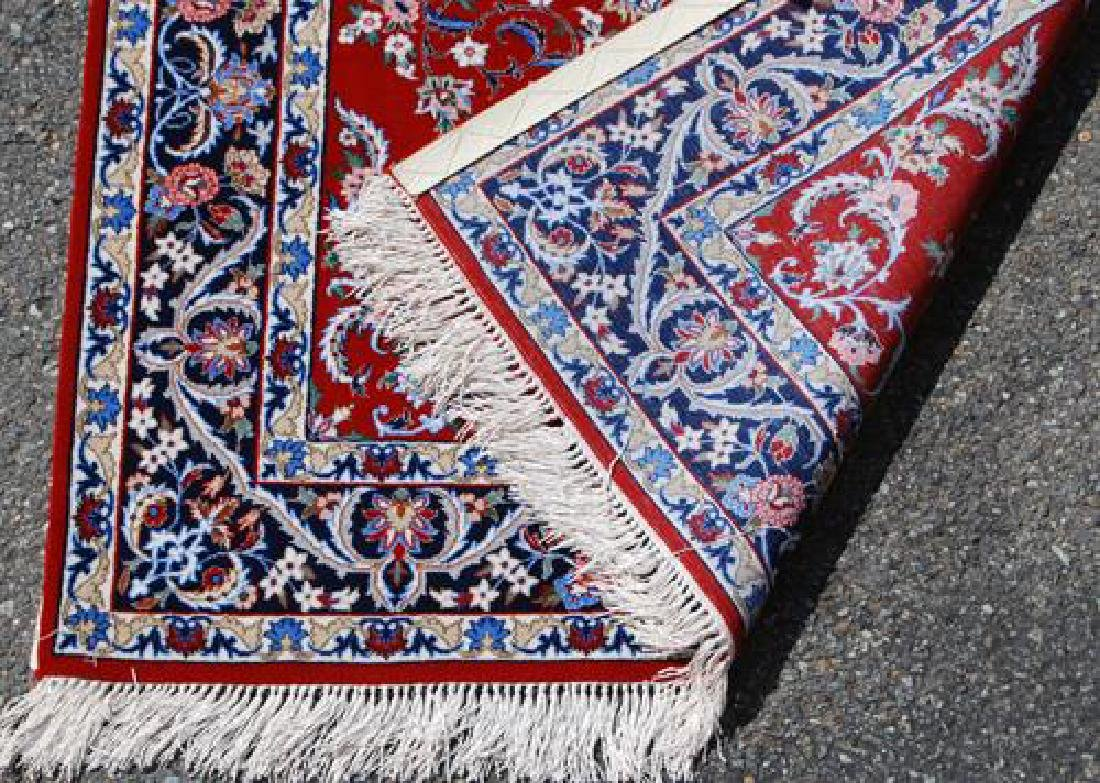 GORGEOUSLY DESIGNED PERSIAN ISFAHAN WITH SILK - 4