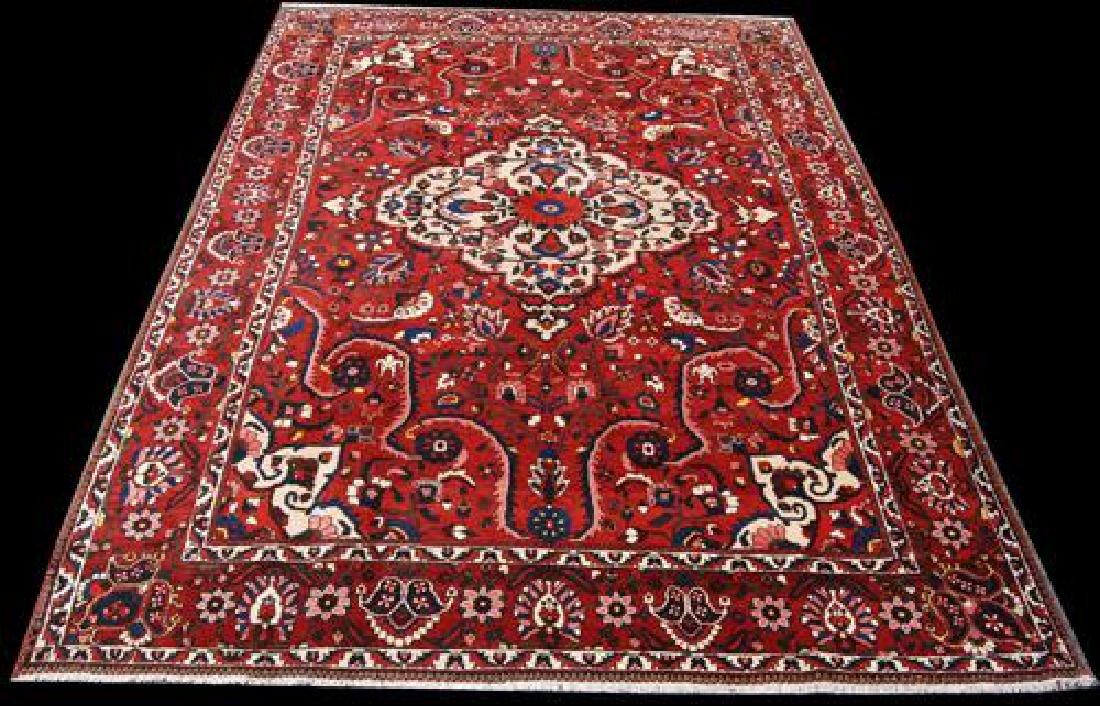 Rare Design Highly Detailed Persian Bakhtiari 13.8x10.5