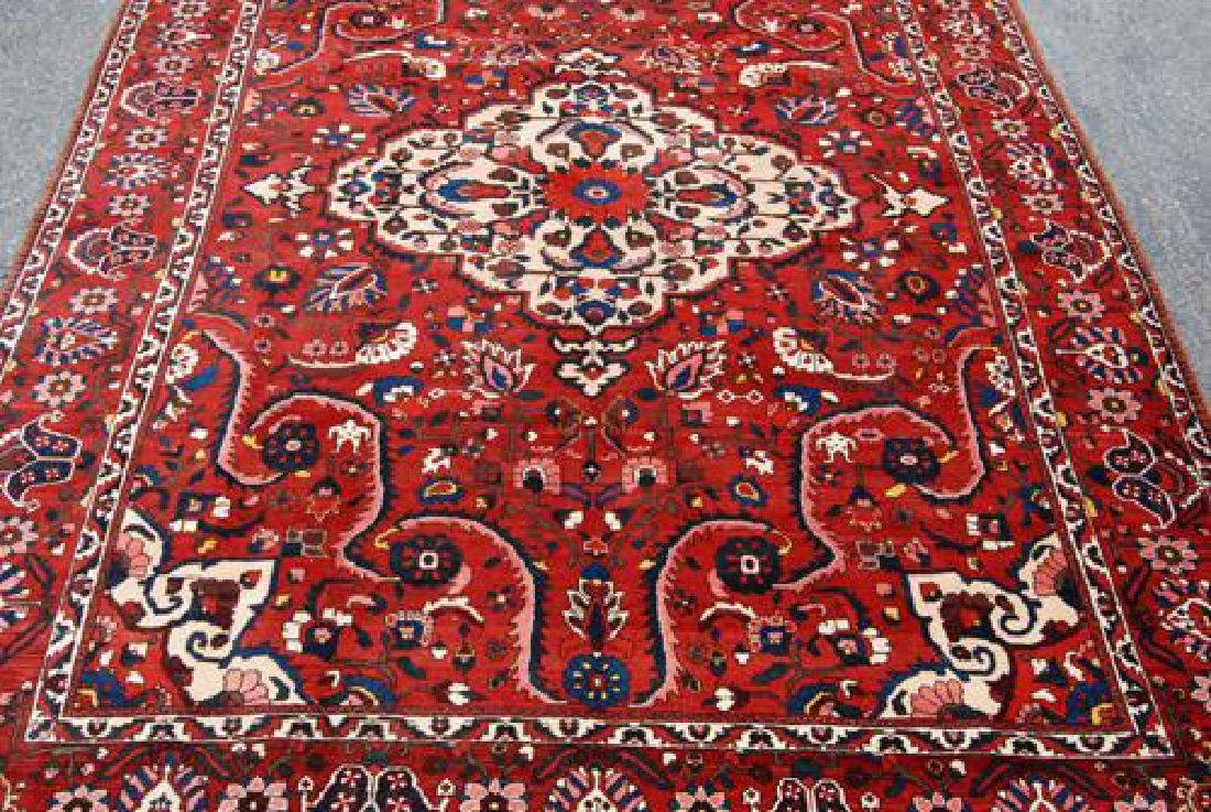 Rare Design Highly Detailed Persian Bakhtiari 13.8x10.5 - 3