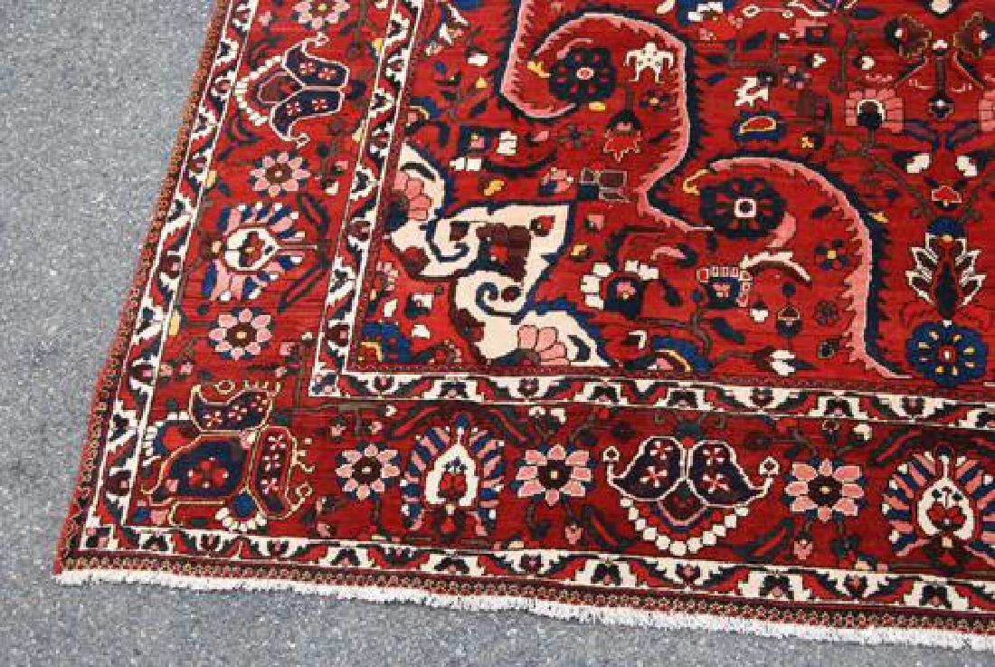 Rare Design Highly Detailed Persian Bakhtiari 13.8x10.5 - 4