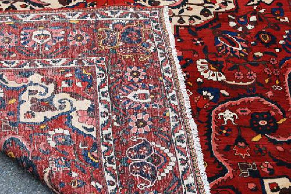 Rare Design Highly Detailed Persian Bakhtiari 13.8x10.5 - 5