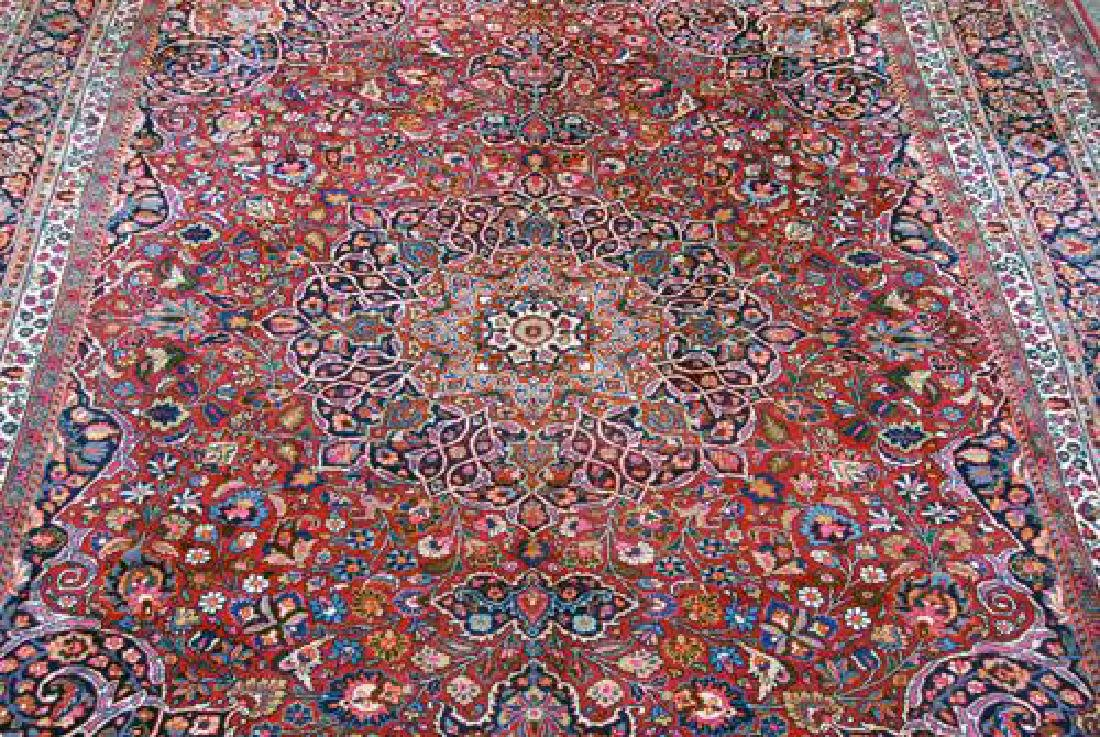 Absolutely Mesmerizing Semi Antique Persian Mashhad - 2
