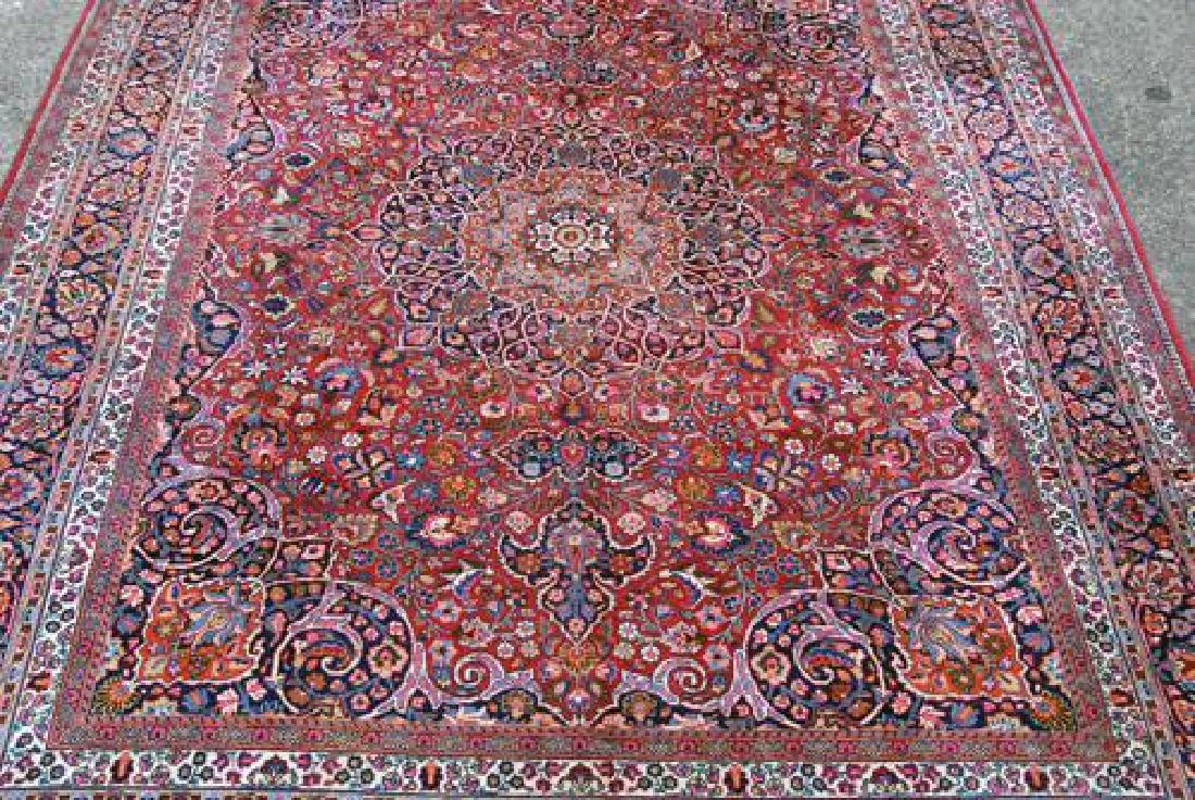 Absolutely Mesmerizing Semi Antique Persian Mashhad - 3