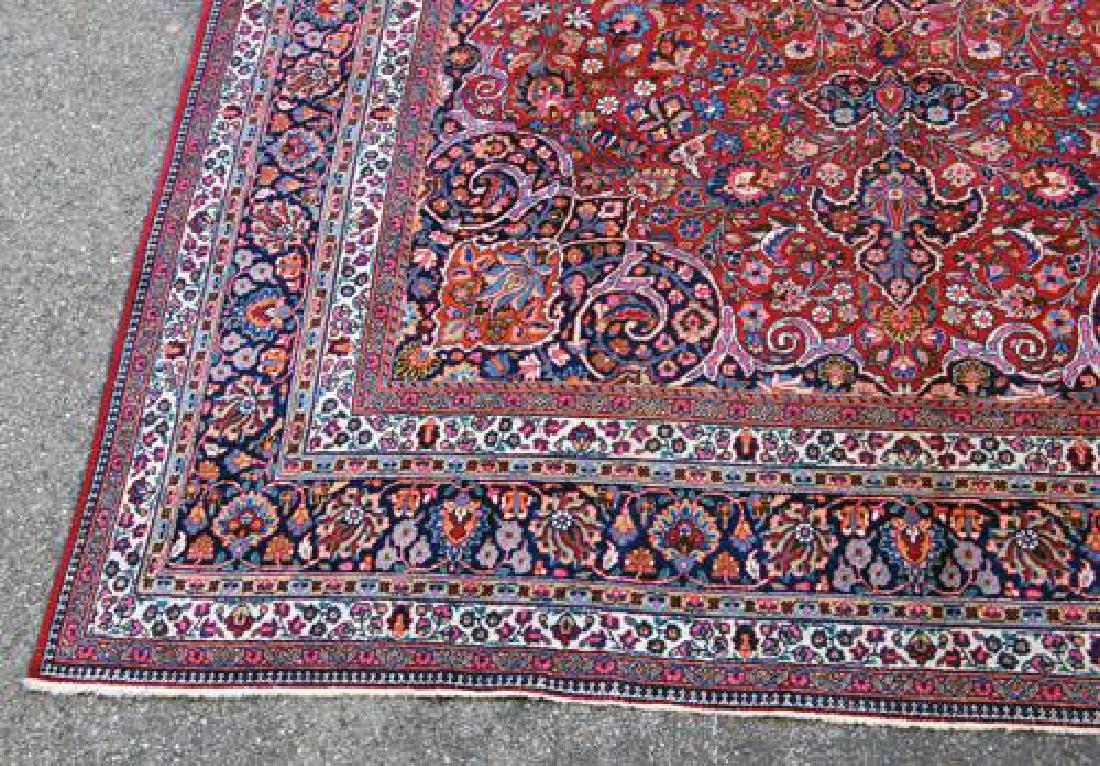Absolutely Mesmerizing Semi Antique Persian Mashhad - 4