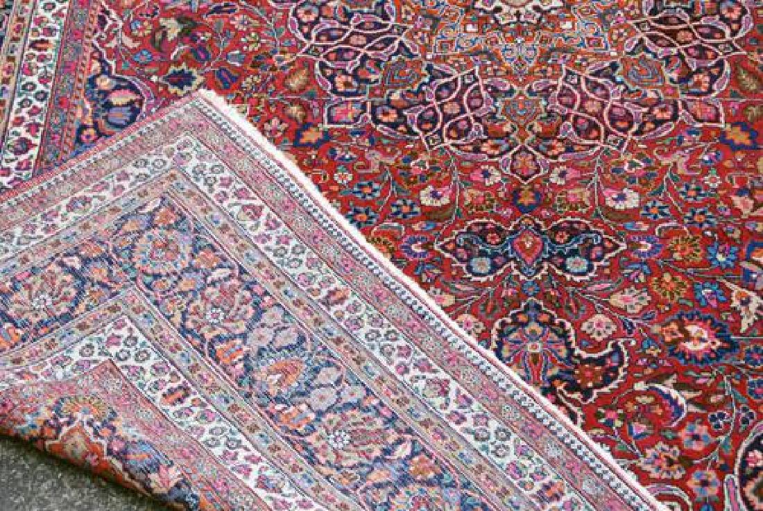 Absolutely Mesmerizing Semi Antique Persian Mashhad - 5