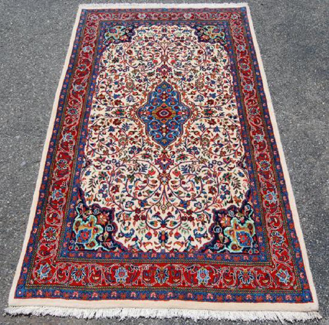 VIBRANT HAND WOVEN AUTHENTIC PERSIAN SAROUK