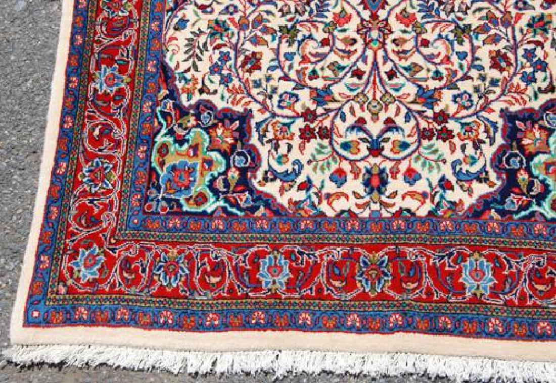 VIBRANT HAND WOVEN AUTHENTIC PERSIAN SAROUK - 4
