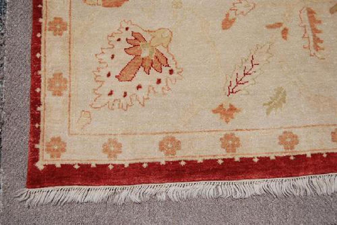 BEAUTIFULLY CONTRASTED VIVIDLY COLORED EGYPTIAN RUG - 3