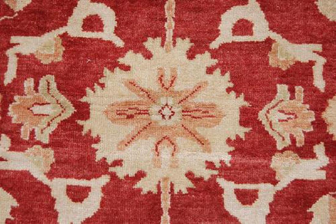 BEAUTIFULLY CONTRASTED VIVIDLY COLORED EGYPTIAN RUG - 4