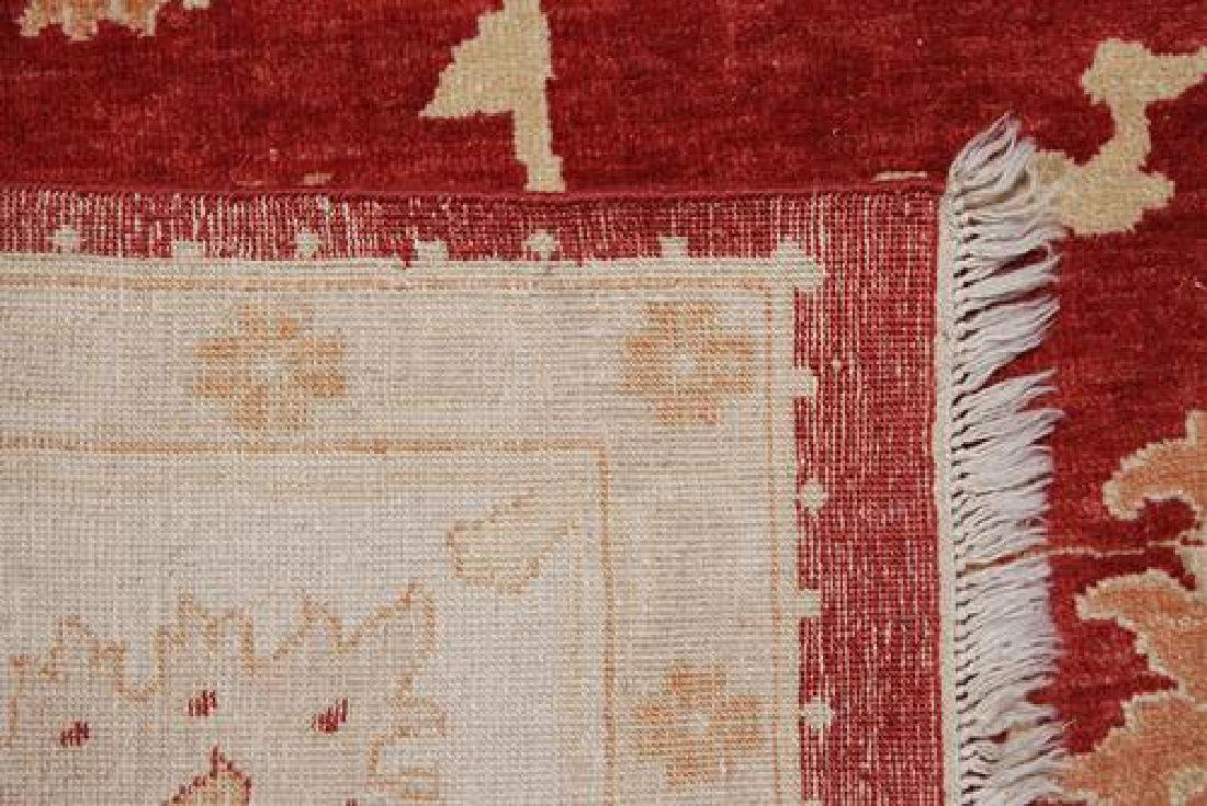 BEAUTIFULLY CONTRASTED VIVIDLY COLORED EGYPTIAN RUG - 5