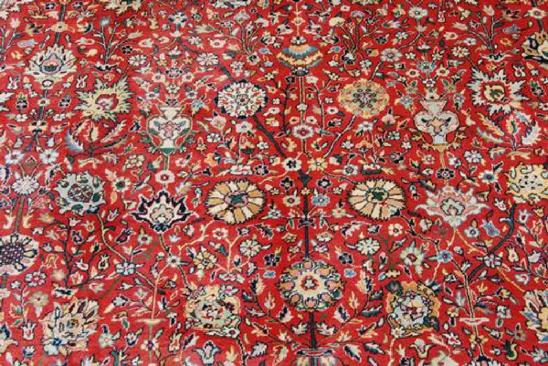Simply Beautiful Fine Quality Semi Antique Tabriz - 3
