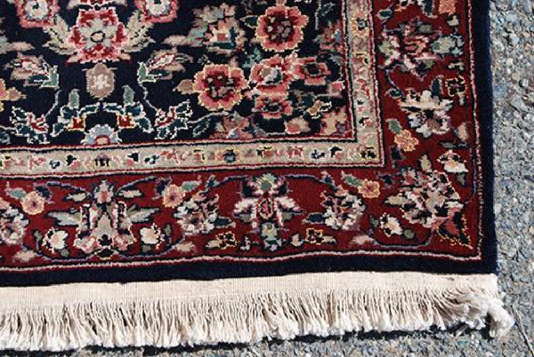 Eye-catching Kashan Design Runner W/Silk Highlights - 4