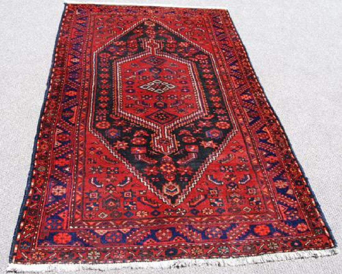 BEAUTIFUL HAND WOVEN SEMI-ANTIQUE PERSIAN NAHAVAND - 2