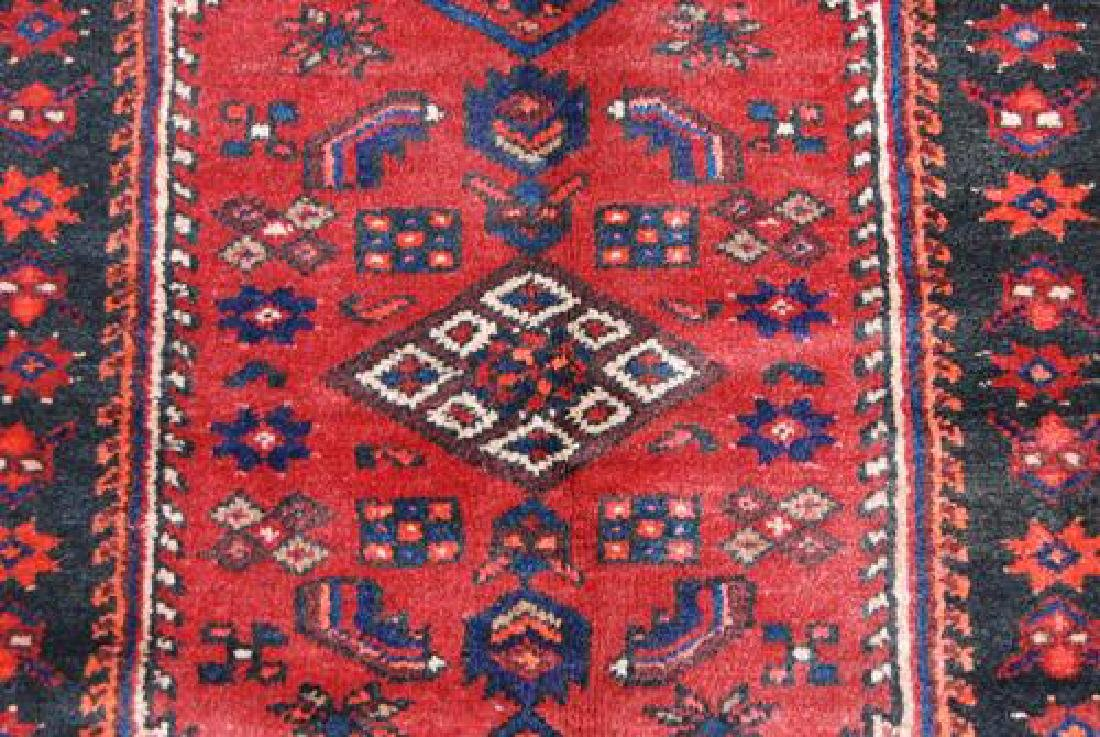 BEAUTIFUL HAND WOVEN SEMI-ANTIQUE PERSIAN NAHAVAND - 3