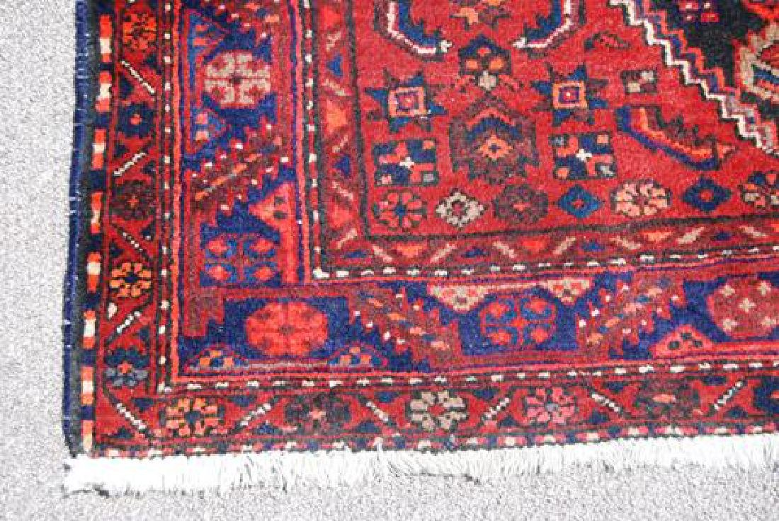 BEAUTIFUL HAND WOVEN SEMI-ANTIQUE PERSIAN NAHAVAND - 4