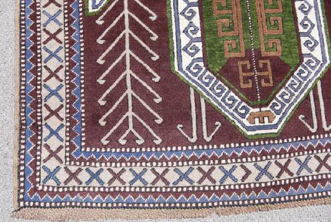 Handwoven Semi Antique Turkish 4.10x7.3 - 3