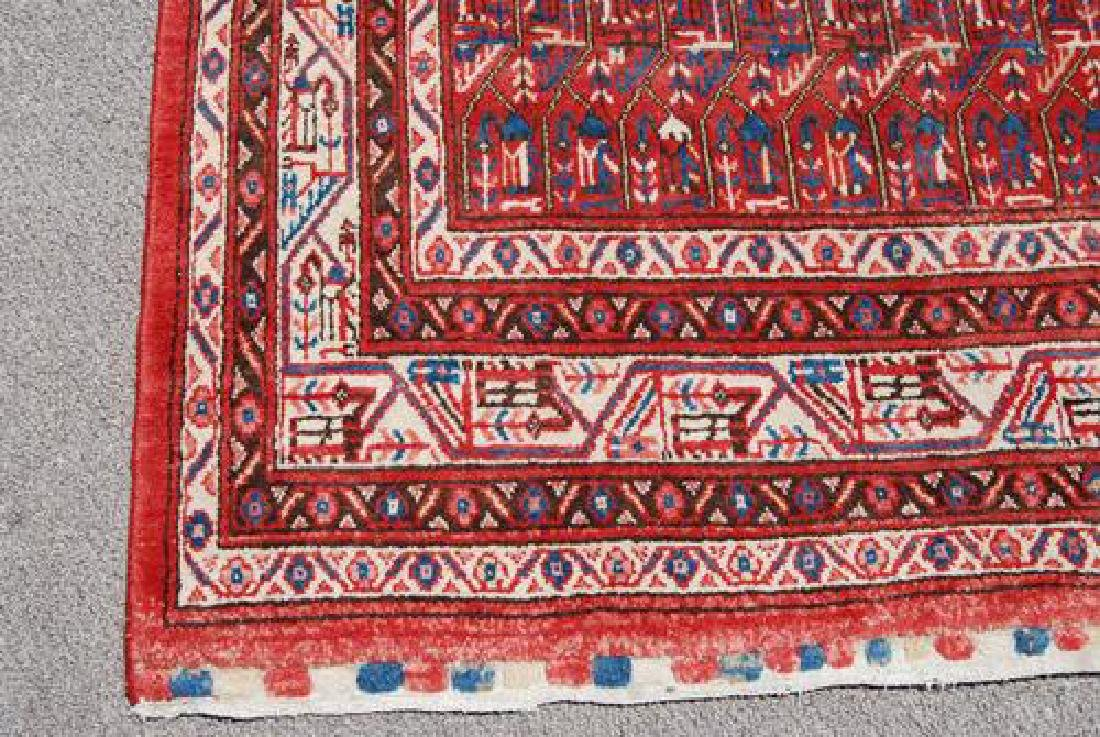 Spectacular Masterpiece Semi Antique Persian Sarouk Mir - 3