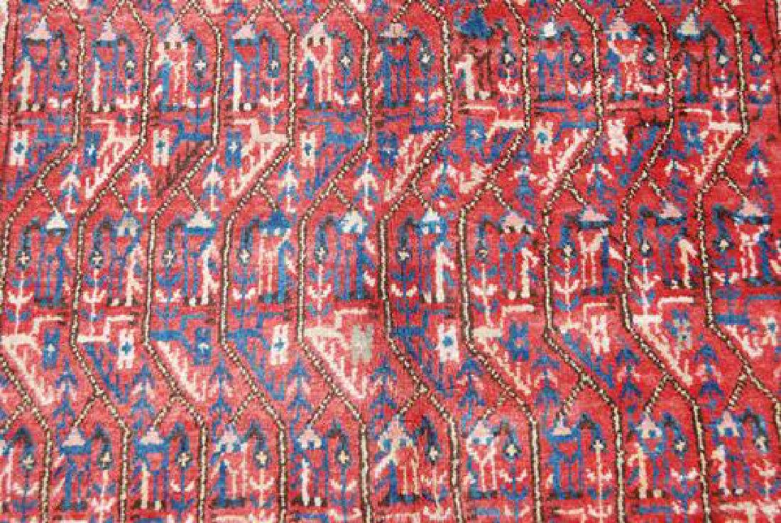 Spectacular Masterpiece Semi Antique Persian Sarouk Mir - 4