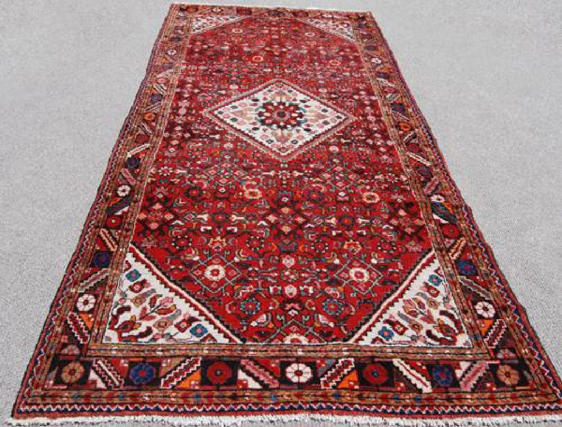 Fine Looking Authentic Persian Hosseinabad Runner - 2