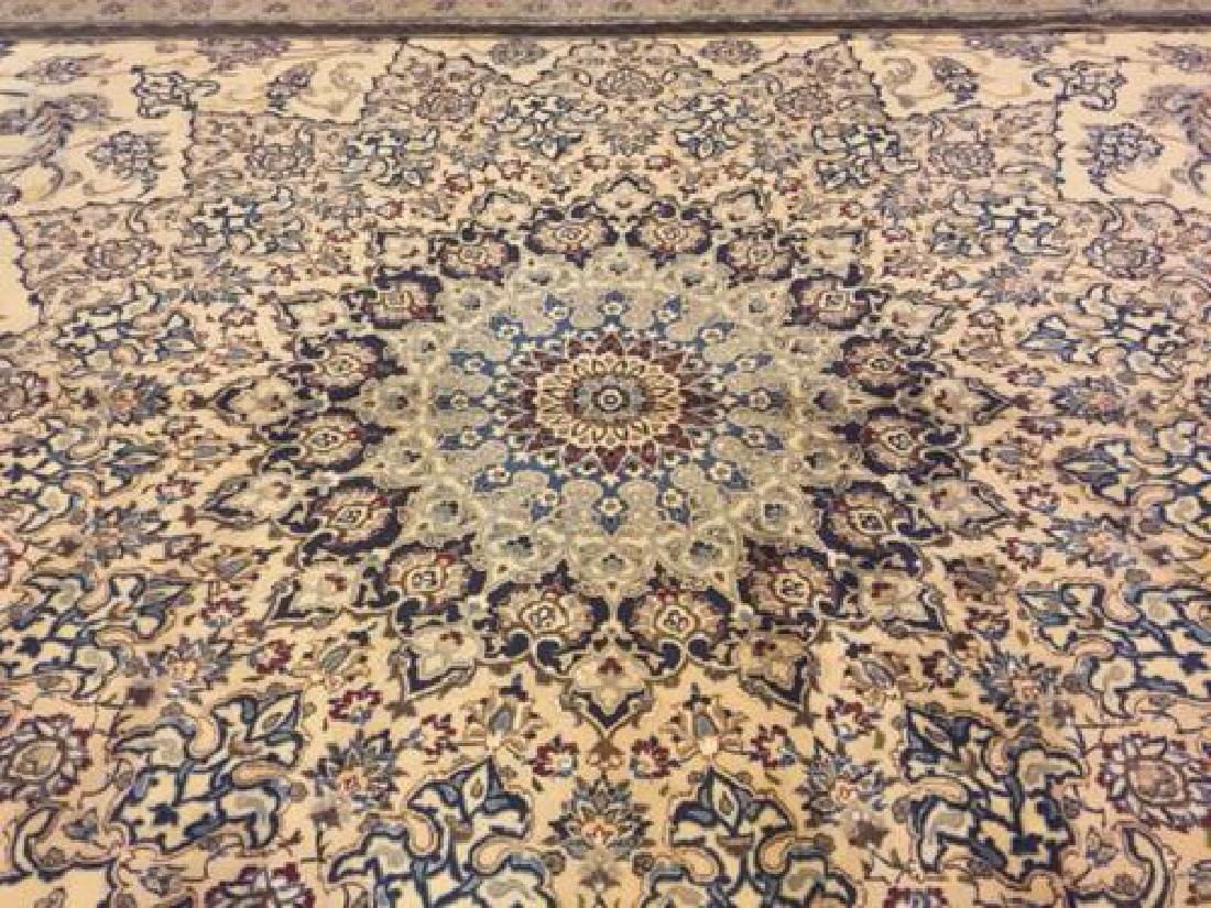 Auction Highlight: Palace Size Pure Silk Persian Nain - 4