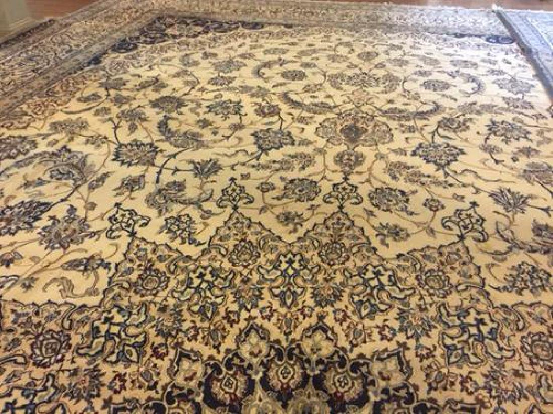 Auction Highlight: Palace Size Pure Silk Persian Nain - 5