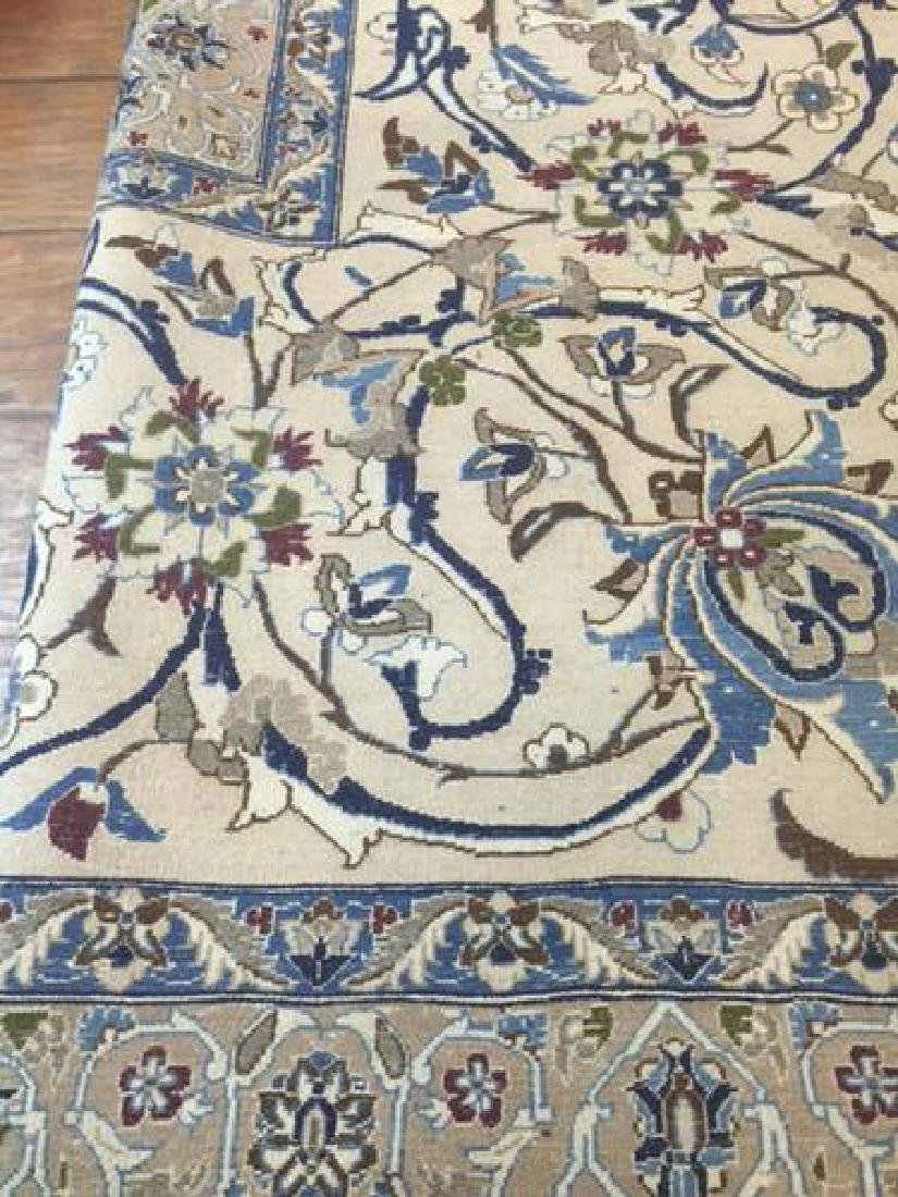 Auction Highlight: Palace Size Pure Silk Persian Nain - 8
