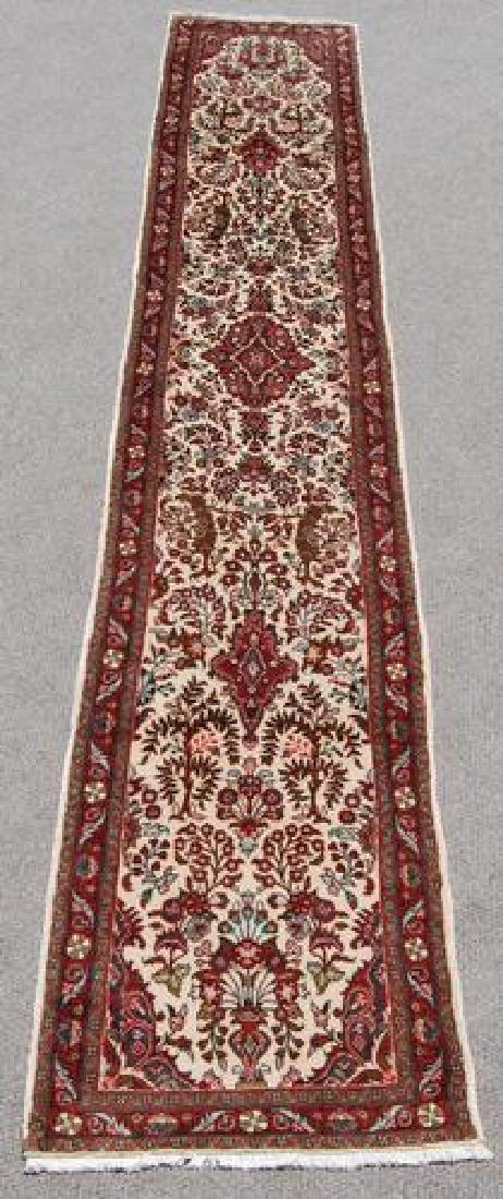Simply Beautiful Genuine Handmade Persian Heriz Runner - 2