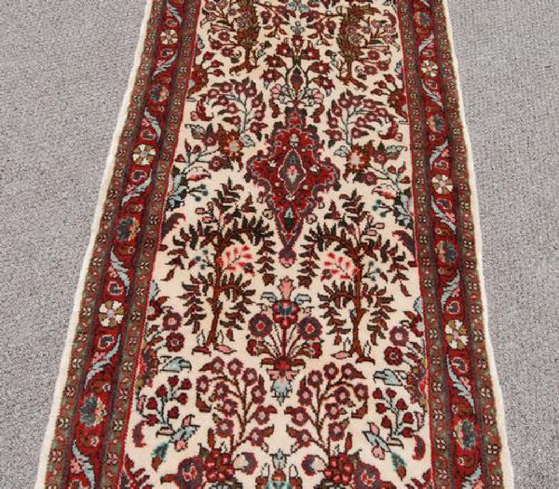 Simply Beautiful Genuine Handmade Persian Heriz Runner - 3