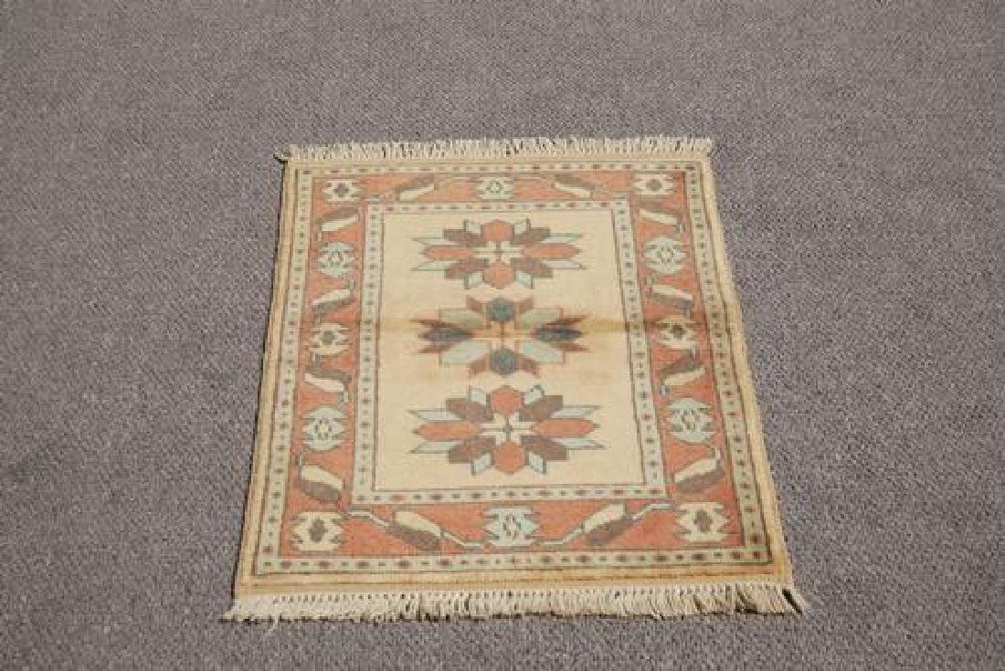 LOVELY NICE COLORS HAND MADE TURKISH KONYA RUG - 2